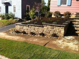 retaining wall 15