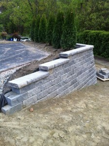 retaining wall 8